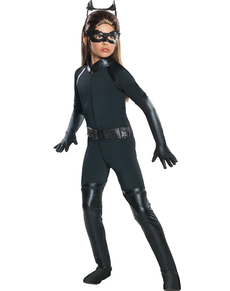Costume Catwoman deluxe per bambina