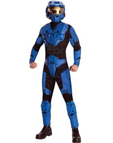 Costume Blue Spartan Halo Deluxe