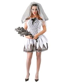 Costume da sexy sposa morta per donna