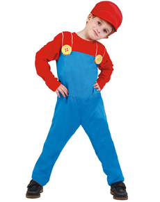Costume da Mario-macchinista del treno per bambino