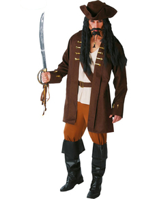 Costume capitano pirata