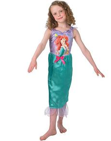 Costume da Ariel La Sirenetta fiaba da bambina