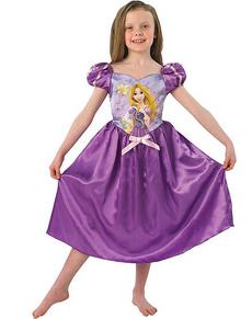 Costume da Raperonzolo fiaba da bambina