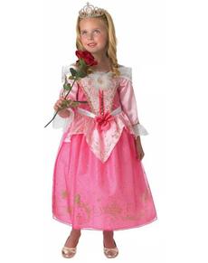 Costume da Aurora di La Bella Addormentata nel Bosco  anniversario da bambina