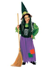 Costume da strega delle favole da bambina