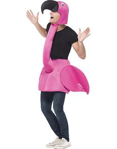 Costume da fenicottero rosa per adulto