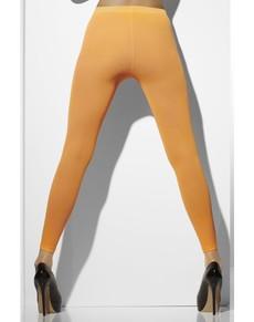 Leggings arancione fluo