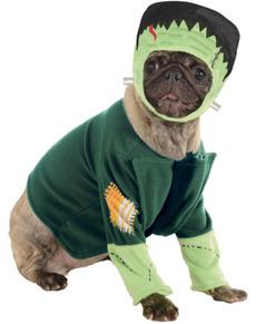 Costume Frankenstein Mostri della Universal per cane