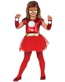 Costume Rescue Marvel bambina