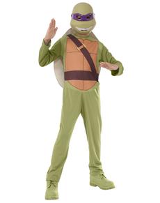 Costume Donatello Tartarughe Ninja bambino con confezione
