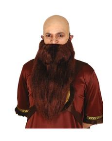 Barba da monaco uomo