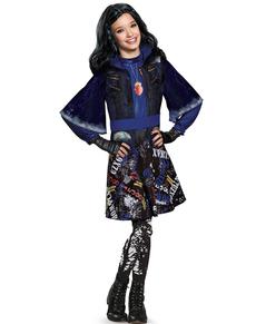 Costume da Evie Descendants deluxe da bambina