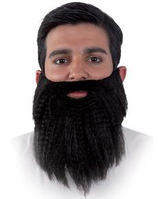 Barba hipster da uomo