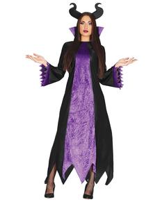 Costume da fata cattiva delle fiabe per donna
