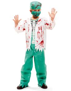Costume da chirurgo scheletro per bambino