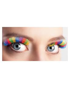 Ciglia multicolor per donna