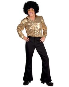 Pantaloni disco neri per uomo