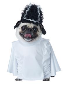 Costume da sposa di frankenbau per cane