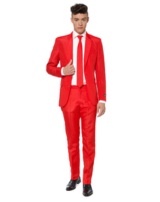 Abito Solid Red Suitmeister