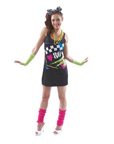 Costume da I Love the 80s per donna