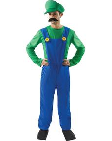 Costume da aiutante idraulico italiano per uomo