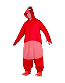 Costume da Red Angry Birds per adulto